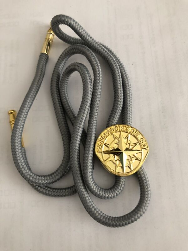 Royal Rangers Bolo Tie Gray From Mexico