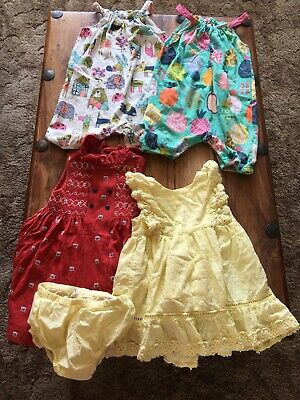 Baby Gap And Next Bundle Girls Baby Dresses Rompers
