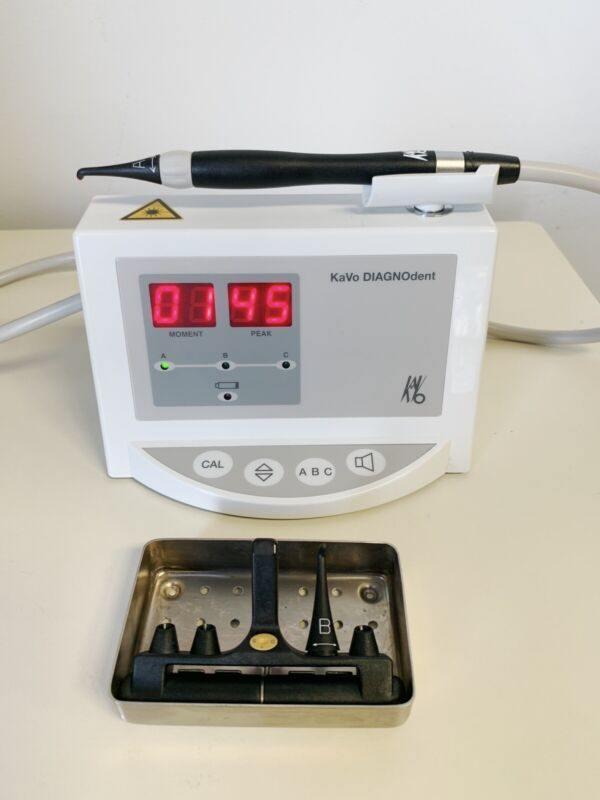 Kavo Diagnodent Classic 2095 Dental Caries Laser Cavity Detection Unit & 2 Tips