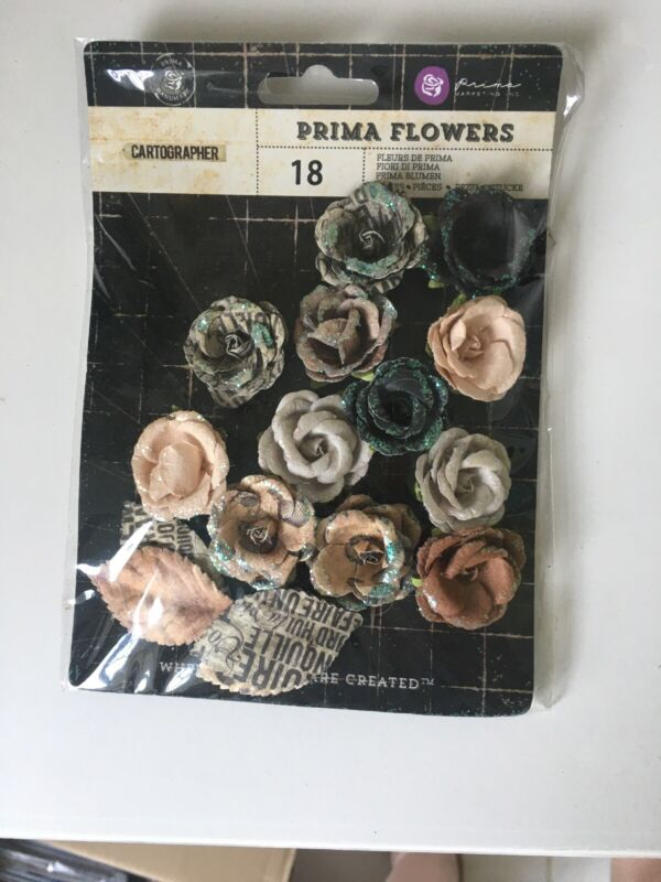 Prima Cartographer Flowers And Leaves