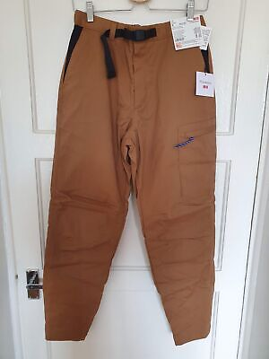 Uniqlo x J.W. Anderson Warm Lined Jogger Cargo Trousers Brown - Small
