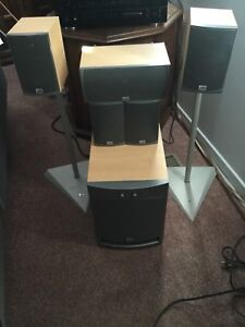 PSB Alpha Intro  Home Theater Speakers and Subwoofer