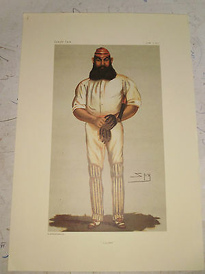 VANITY FAIR PRINT CRICKET WILLIAM GILBERT GRACE