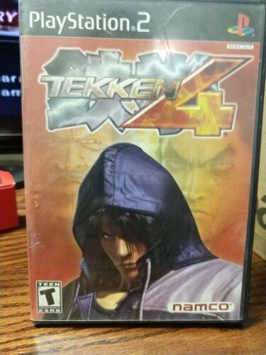 Tekken 4 Sony PlayStation 2, 2002  - $3.99