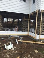 House jacking/ Foundations