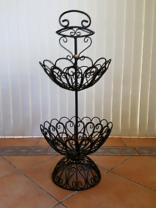 2 Tier metal fruit and vegetable stand baskets Ascot Brisbane North East Preview