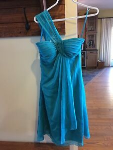 Turquoise/teal bridesmaid dress!! (size 2)