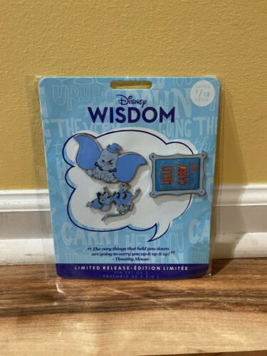 Disney Dumbo Wisdom Collection Pin Set Series 1 of 12 Limited Edition