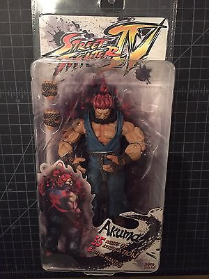 Street Fighter IV AKUMA 7in Action Figure NECA Toys Series 2 Player Select New