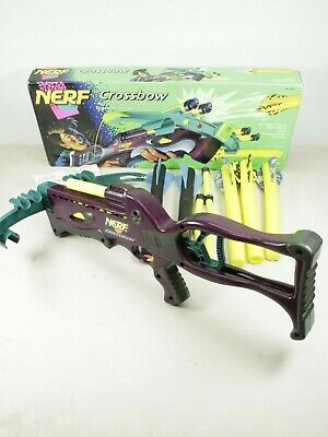 1995 NERF Kenner Crossbow Almost Complete in Box Very Good Condition