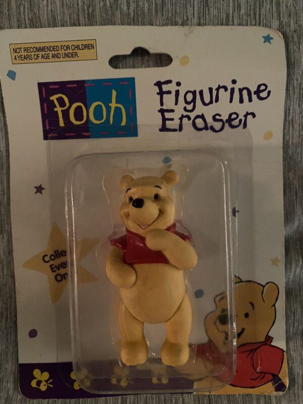Vintage Pooh figurine Eraser NOC