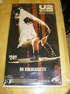 8 Promo U2 Rattle And Hum Rare Posters from 1989 Set Still Sealed in Plastic for sale  Shipping to Canada