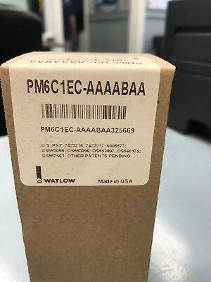 Watlow Pm6c1ec-aaaabaa Temperature Controller New In Box