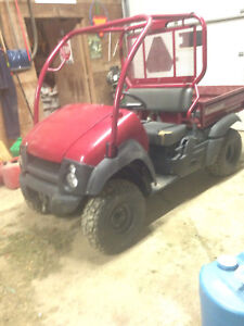 Wanted lower front fenders MULE 610
