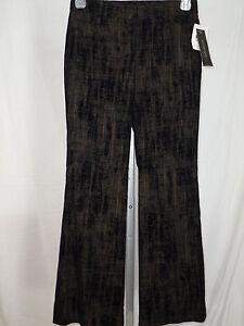 Pants Women's WOMYN Made in USA Black Revival Velvet Size 2 NWT