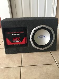 Custom Jeep Box Subwoofer & Amp