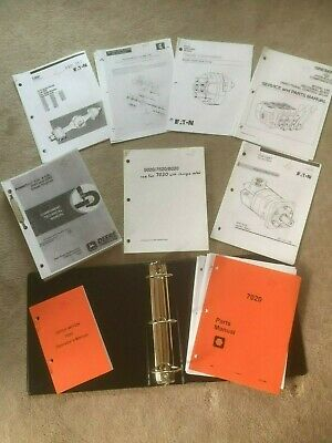 Ditch Witch 7020 Operators Parts Repair Supplier Manuals John Deere