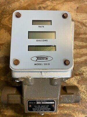 Nice Tokheim 20102011 Fuel Meter Electronic Register