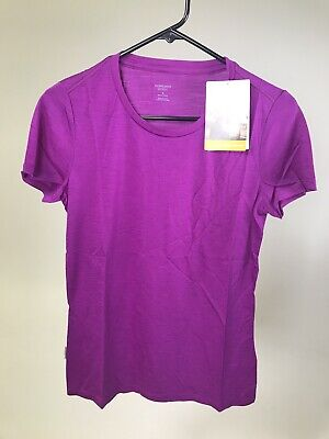 ICEBREAKER Women's Merino Wool Drifter 120 T-shirt - VIVID - XS/S/M/Large- NWT