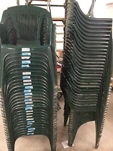 Plastic chairs Macquarie Park Ryde Area Preview