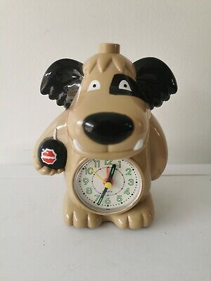 Vtg Muttley Whacky Races Alarm Clock Retro Man Cave Display Working