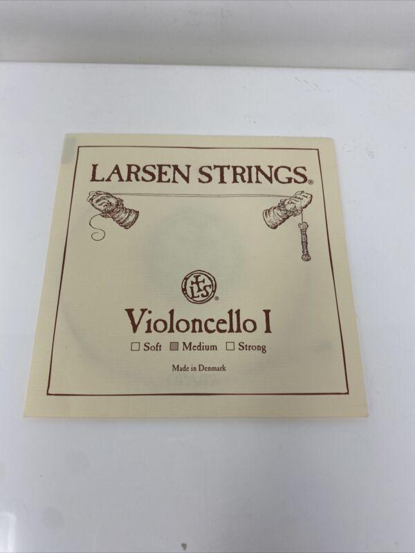 Larsen Strings 4/4 Cello A String Medium Alloy-Steel, Violoncello I