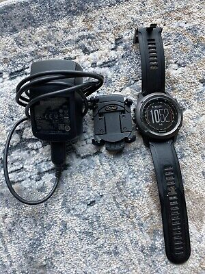 Garmin Fenix 3 HR Sapphire Watch GPS Sport Triathlon Fitness Running W/ Charger