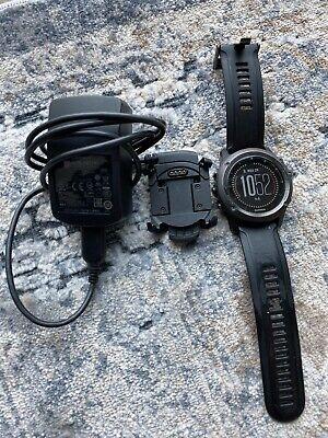 Garmin Fenix 3 HR Sapphire Watch GPS Sport Triathlon Fitness Running W/ Charger