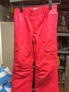 Girl large snow pants