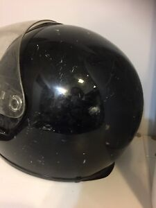 SHOEI motorcycle helmet.