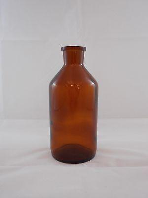 Wheaton Amber Glass 16oz Apothecary Reagent Bottle Wo Ground Stopper