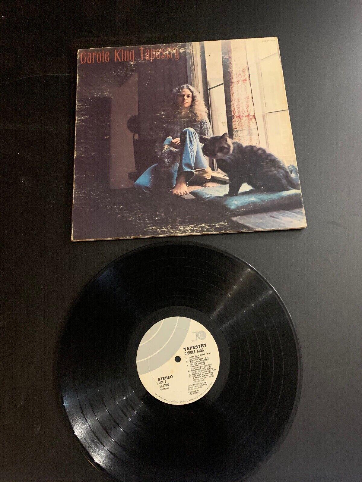 LP RECORD - CAROL KING - TAPESTRY - A M RECORDS - $9.99