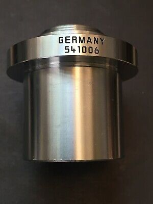 Leica Leitz 1x C-mount Microscope Camera Adapter - 541006 Dia. 37mm