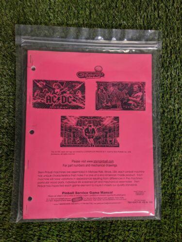 AC/DC by Stern Pinball Manual