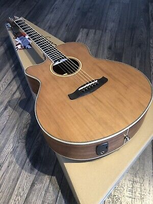 Left Handed Electro Acoustic Guitar £369 RRP Solid Top Tanglewood TW9LH Cutaway