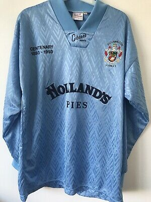 Accrington Stanley Centenary Shirt 1893-1993 Size Medium Excellent Condition image