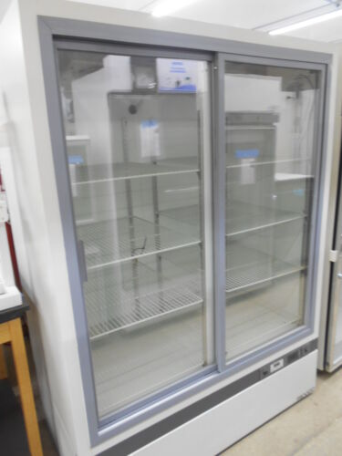 THERMO REVCO REL4504A21 45 CU-FT DOUBLE GLASS SLIDING DOOR LAB REFRIGERATOR