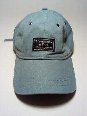 Abercrombie & Fitch Adjustable Strap Hat Light Blue