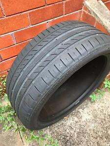 Continental SSR 225/40R19 tyre - almost new Kingsgrove Canterbury Area Preview