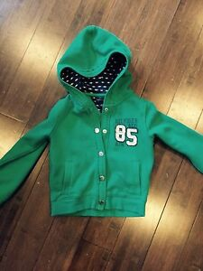 Girls Tommy Hilfiger hoodie with snaps size 3T