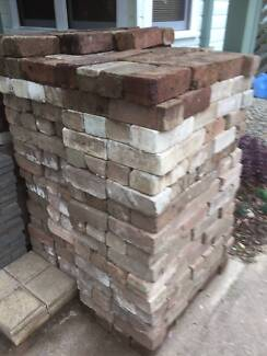 """Free Bricks"" used as pavers 630 off - Pick-up Only 0 Revesby Bankstown Area Preview"