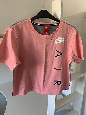 Nike women crop t-shirt size small