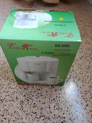 Cafetera electrica Euro Kalac 2 tazas