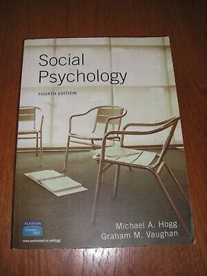 Social Psychology by Michael A. Hogg, Graham Vaughan (Paperback, 2004), used for sale  Shipping to South Africa