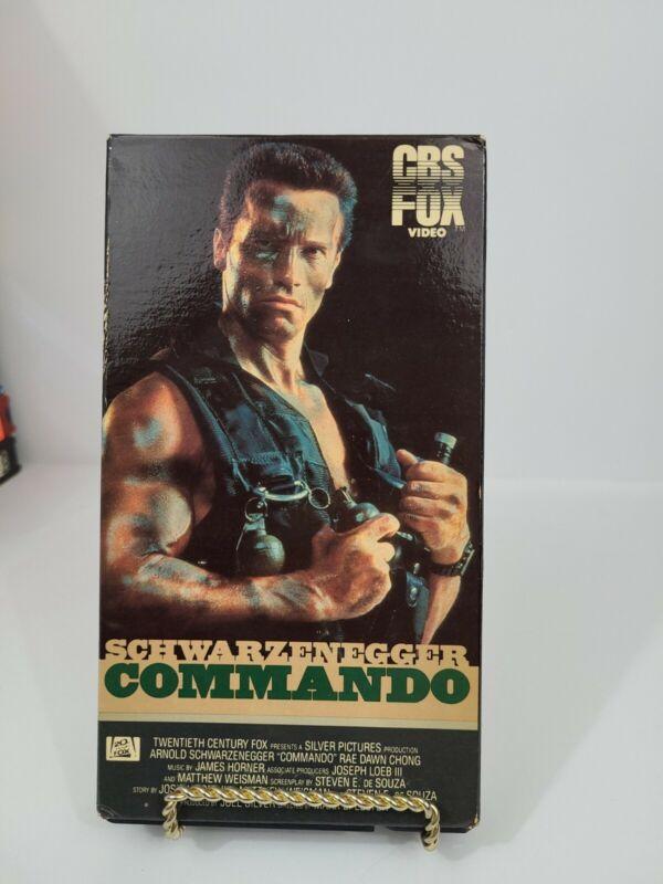 Commando (VHS, 1986) CBS FOX