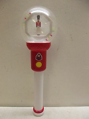 LED BLINKING BALL SPINNER FLASHING LIGHTS WAND CHRISTMAS SOLDIER SPECTACULAR TOY - Led Spinner Wand