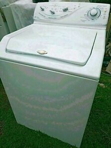 MAYTAG COMMERCIAL GRADE HEAVY DUTY TOP LOADER WASHING MACHINES FRONT