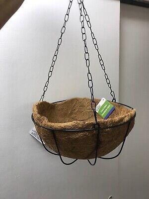 Garden Collection Black Hanging Wire Basket 10
