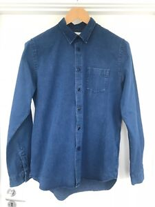 Folk clothing Mens denim shirt, Size 3 (medium)
