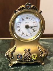Musical Alarm Clock German Cheire Vintage 1950's
